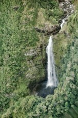 We were brave and went on a helicopter ride and saw some amazing waterfalls.