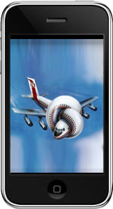 airplane in cell phone