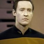 """""""Data"""" from Star Trek - the only 'singular' Data"""