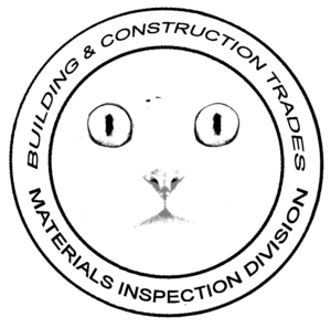 Materials Inspection Division - Big Kitty Is Watching You