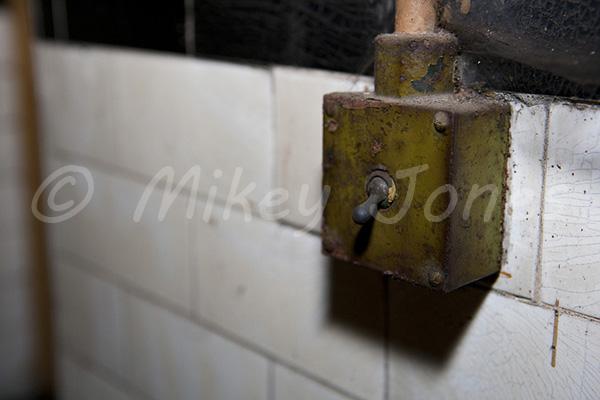 Light switch. © Mikey Jones.
