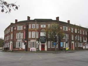 Station Hotel, Dudley.