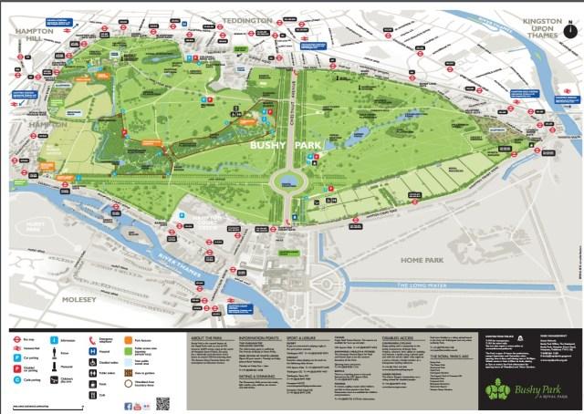 Fonte: https://www.royalparks.org.uk/parks/bushy-park/map-of-bushy-park
