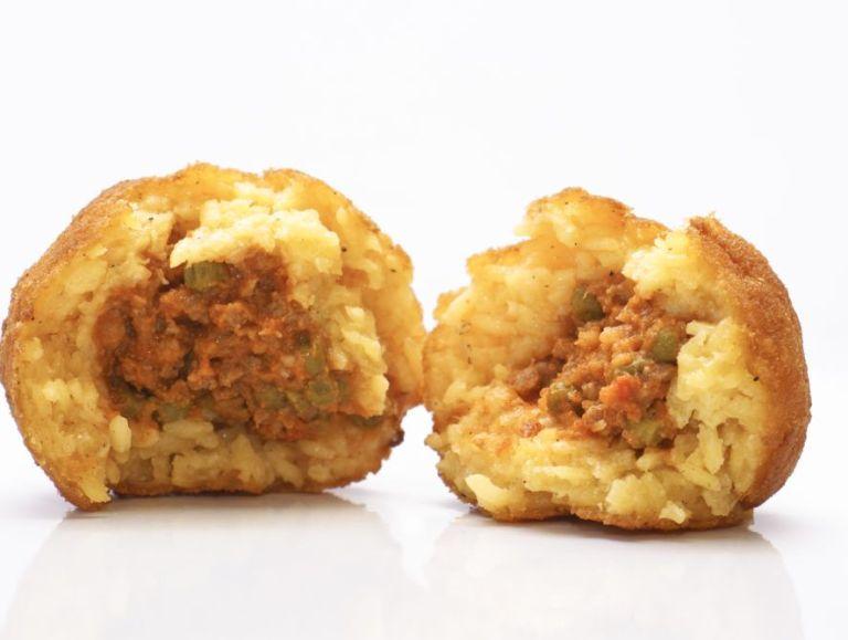 Arancini - ryżowe kuleczki