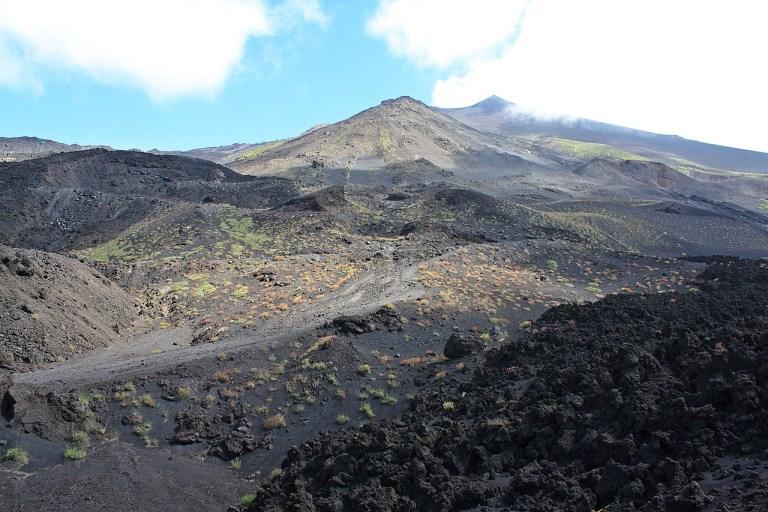 Wejście na Etnę