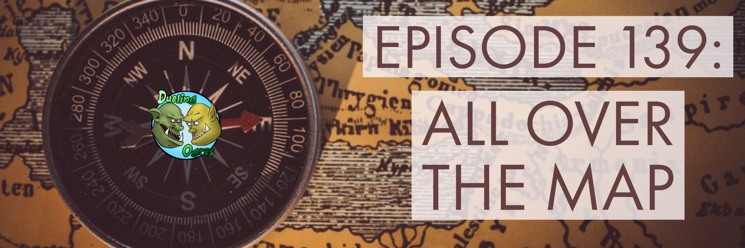 Episode 139: All Over the Map