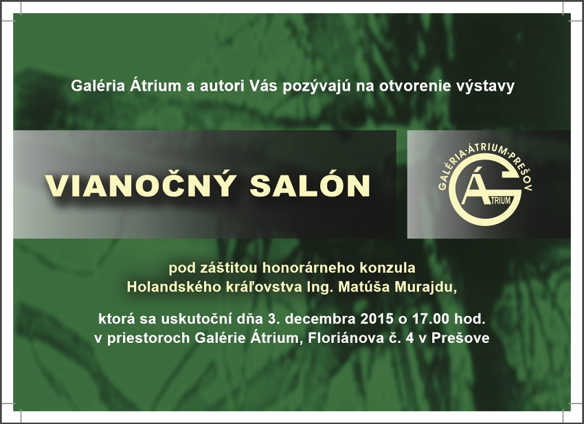 Sale exhibition 2015 Presov