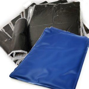 Moorpackung aus Naturmoor für Zuhause Packungen für Rücken und Nacken | Kissen Packung anwendbar bei Reha mit 10 Wärmekissen und 1 Wärmeträger | Moorkissen Moor Kompresse für Mikrowelle