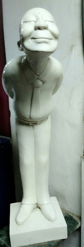 Welcome statue