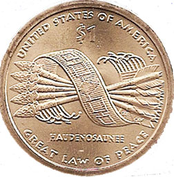 5 arrows US coin