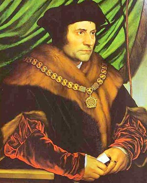 St. Thomas More by Holbein