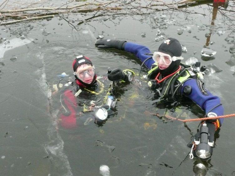 Hans en Annemarie, net weer boven water.