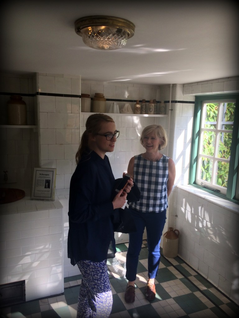 In the kitchen at 78 Derngate