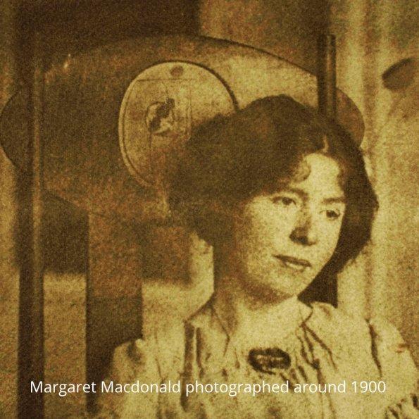 Margaret Macdonald around 1900.