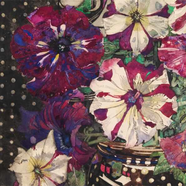 Detail: Petunias