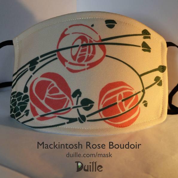 Mackintosh Rose Boudoir mask
