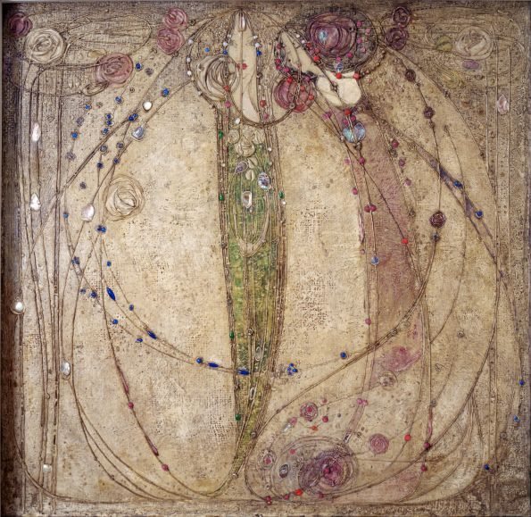 The White Rose and The Red Rose - Margaret Macdonald