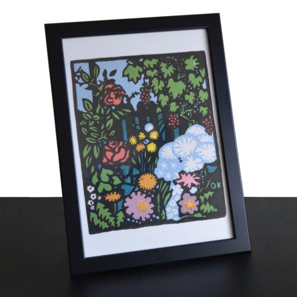 Flower Garden - framed
