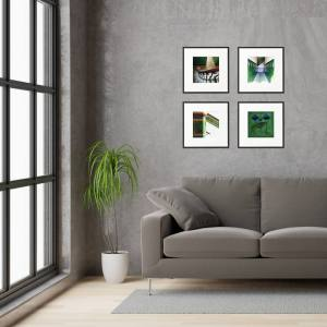 Tenement Tiles prints framed