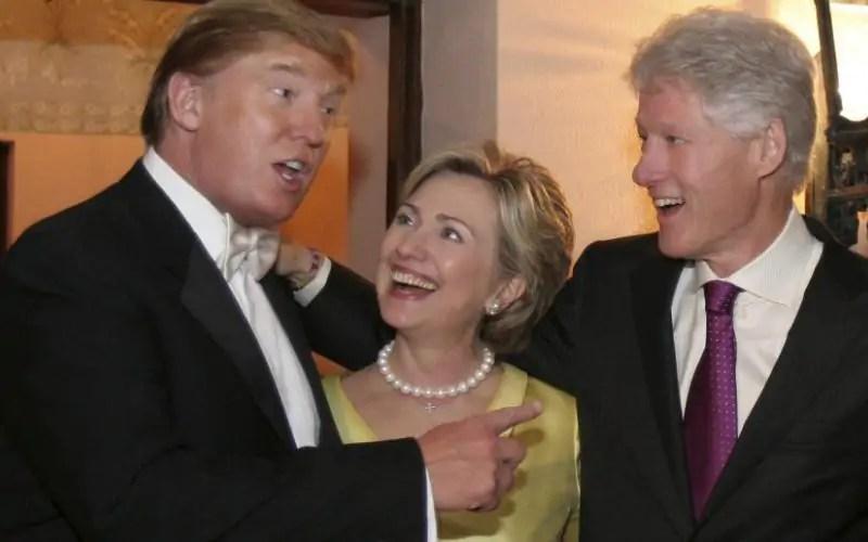 Complot: Trump als geheim wapen voor de Clintons