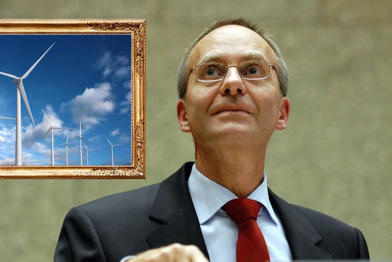 Henk Kamp framet discussie over windmolens