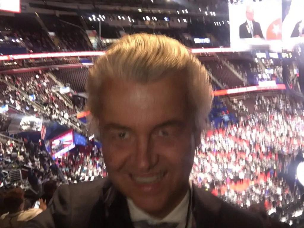 De vakantiekiekjes van Geert Wilders