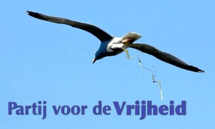 Het verkiezingsprogramma van de PVV is een vod