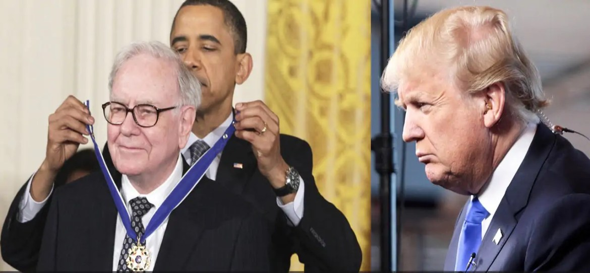 Briljant! Warren Buffet zet Donald Trump op z'n plaats