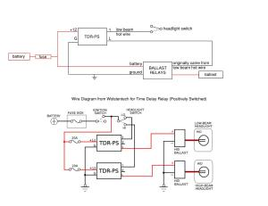 Verify my time delay relay wiring please  HiDpla : The Official Automotive Lighting Forum