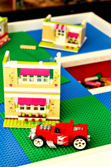 Secret Lego Storage table