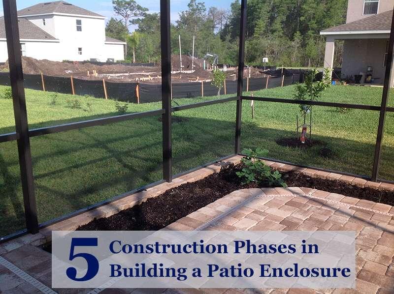 building a patio enclosure