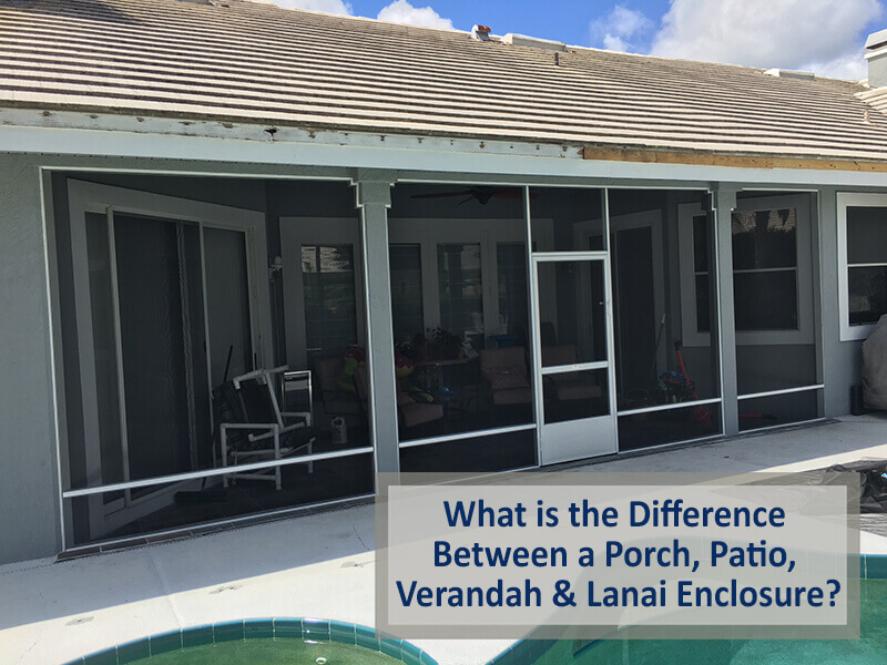 what is the difference between a porch