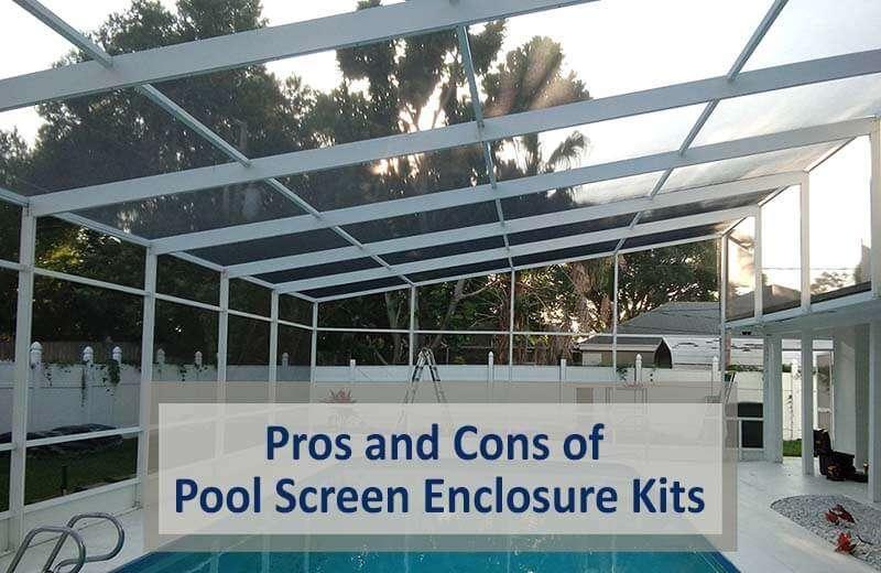 pool screen enclosure kits