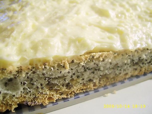 Crema de vanilie pentru prajitura cu mac