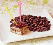 prajitura cu cafea si ciocolata