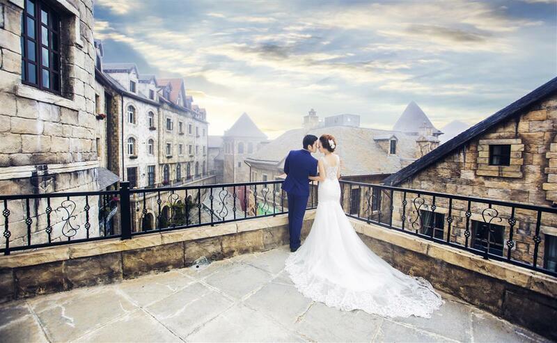 Tại Bà Nà bạn sẽ có bộ ảnh cưới như ở Châu Âu