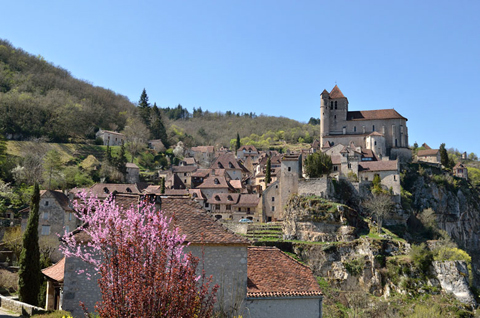 Làng Saint-Cirq-Lapopie