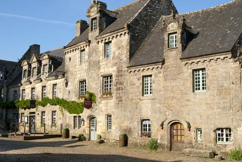 Làng Locronan, Finistère, Brittany
