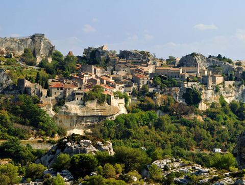 Ngôi làng Les Baux-de-Provence, Bouches-du-Rhône, Provence-Alpes-Côte d'Azur