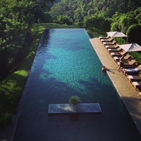 Hồ bơi Alila Ubud, Bali, Indonesia