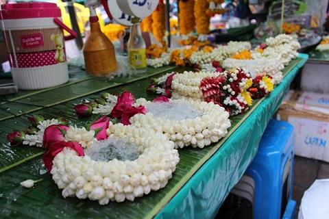 Chợ hoa Thái Lan