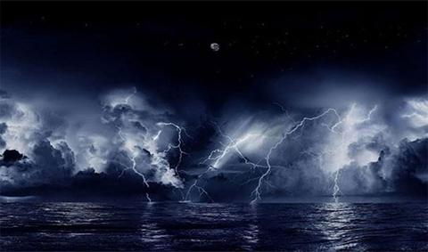 Cũng được biết đến như tia chớp Catatumbo, cơn bão tia chớp này kéo dài tới 160 ngày trên hồ Maracaibo ở Venezuela.
