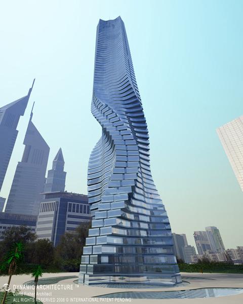 Tháp Rotating, Dubai.