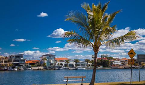 Thị trấn Cape Coral ở Florida, Mỹ