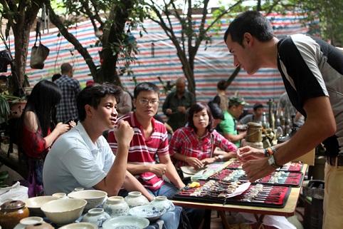 Chợ phiên Hà Nội xưa