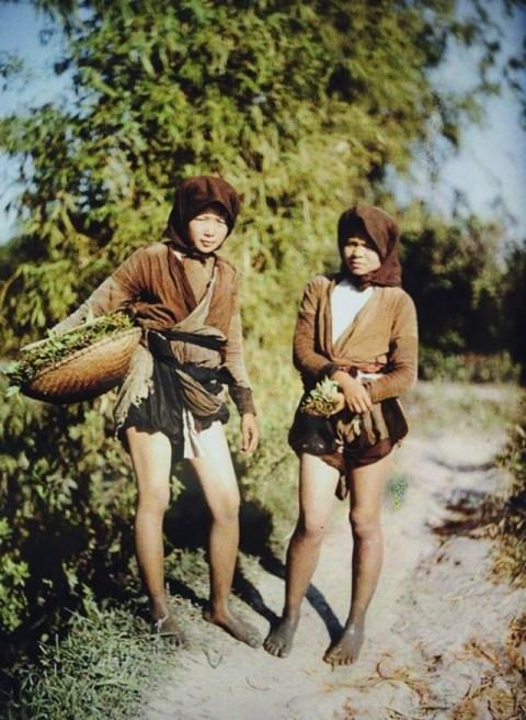 Hình ảnh Việt Nam 100 năm trước