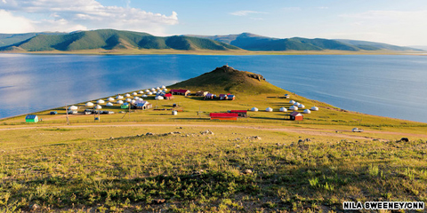 Đất nước Mông Cổ.