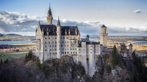 Lâu đài hoàng gia trong Sleeping Beauty