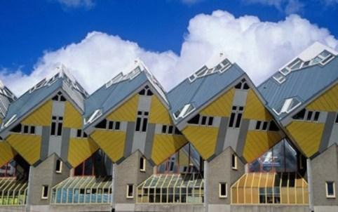 Ngôi nhà Cubic ở Rotterdam, Hà Lan