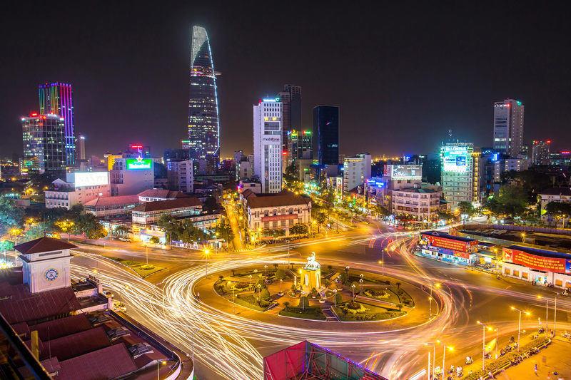 đón năm mới ở Đông Nam Á